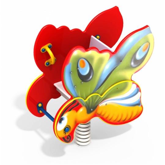 ДИО 4.11 Качалка на пружине Бабочка