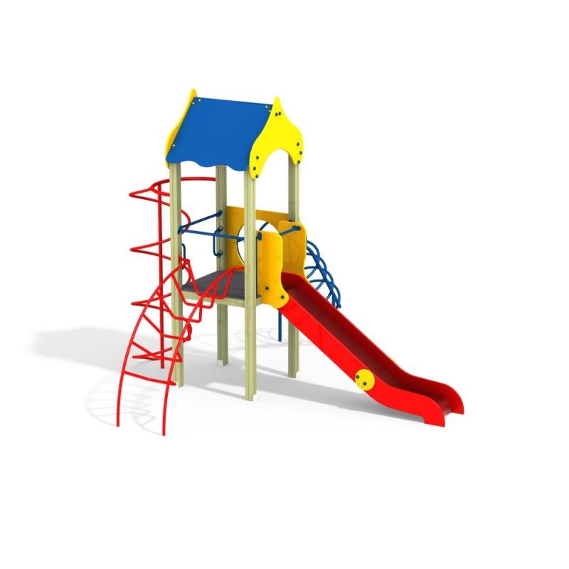 ДИК 1.011 Детский игровой комплекс Лиана Н=1200