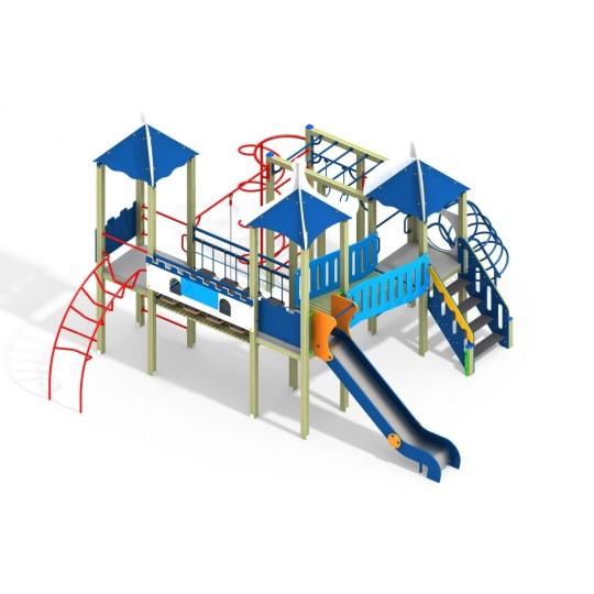 ДИК 3.219 Детский игровой комплекс ДПС Н=1500