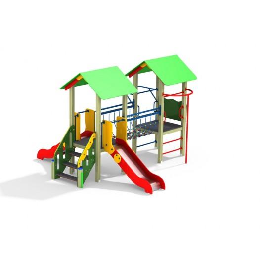 ДИК 2.27 Детский игровой комплекс Веселый мостик Н=900