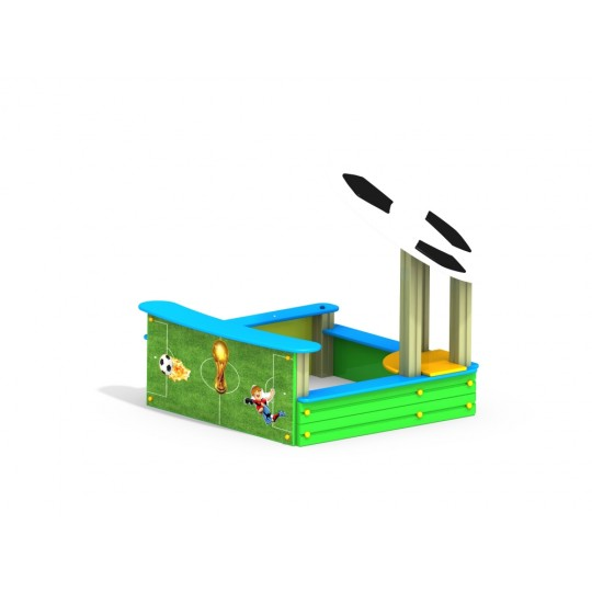 МФ 3.08 Песочница скамейка запасных