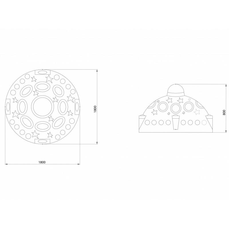 РМФ 4.53 Летающая тарелка