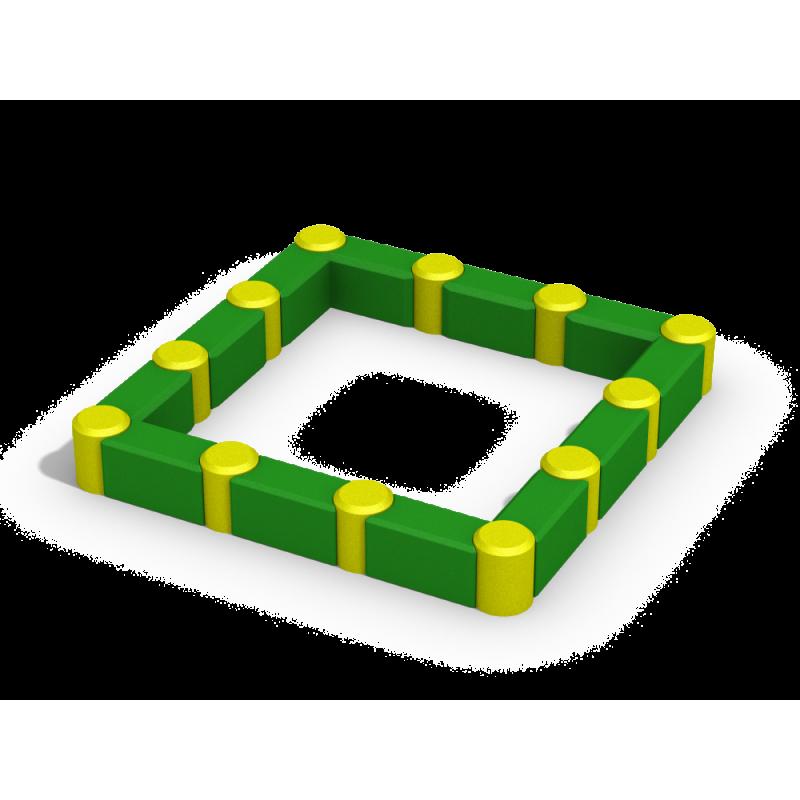 РМФ 3.03 Песочница квадратная