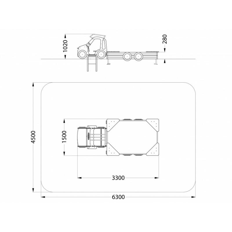 МФ 3.42 Песочница Джип