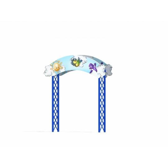 МФ 7.20 Входная арка с росписью Небо