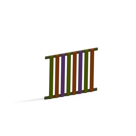 МФ 7.103 Ограждение 1500 мм деревянное декоративное