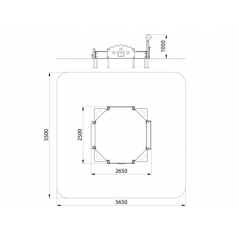 МФ 3.113-16 Песочница со спойлером