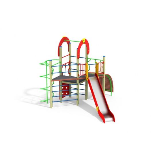 ДИК 2.172 Детский игровой комплекс Веселый уголок Н=1500