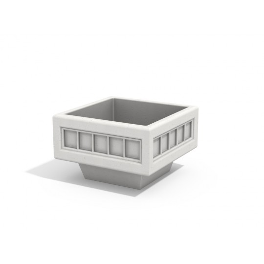 МФ 6.10 Вазон квадратный