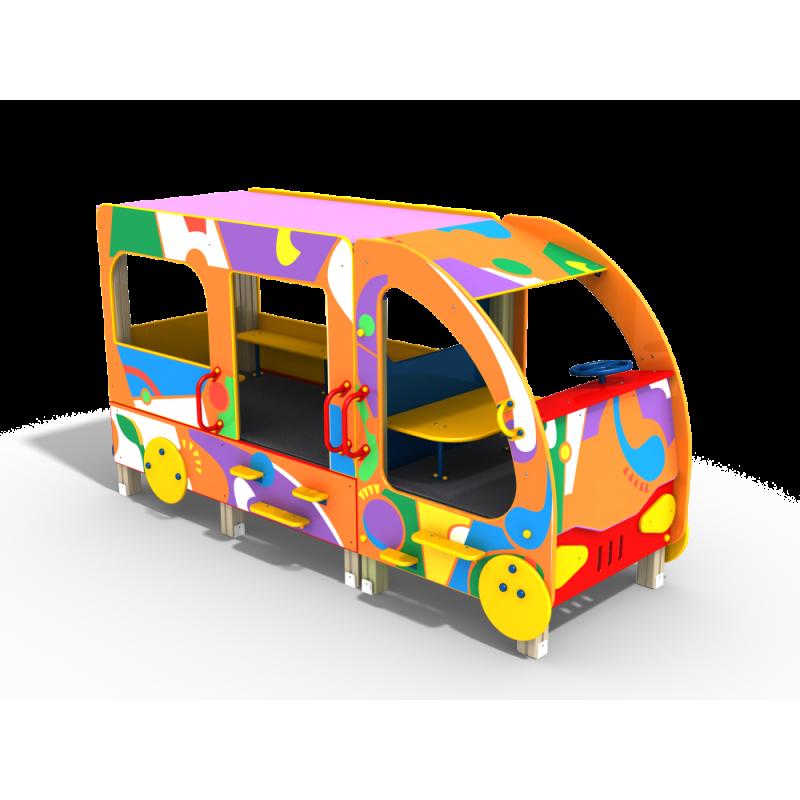 МФ 4.027 Автобус Граффити