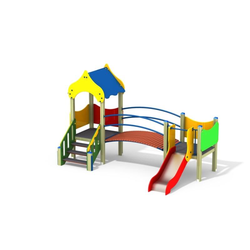 ДИК 2.091 Детский игровой комплекс Филиппок Н=700