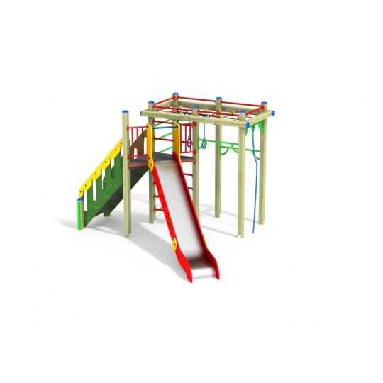 ДИК 1.23 Детский игровой комплекс Верхолаз Н=1500