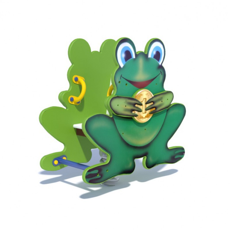 ДИО 4.15 Качалка на пружине Лягушонок