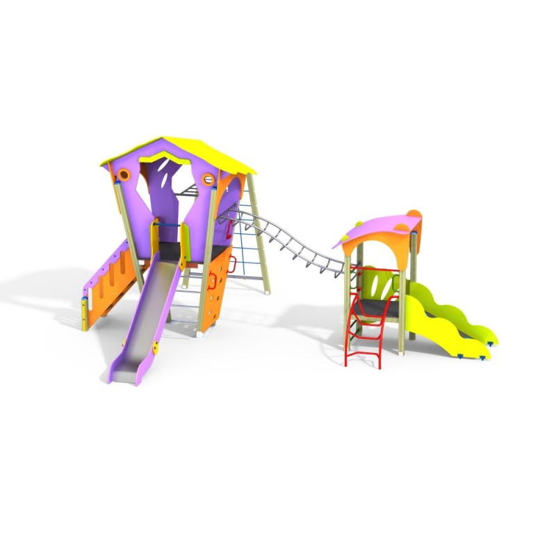 ДИК 2.25 Детский игровой комплекс Театр Н=1500