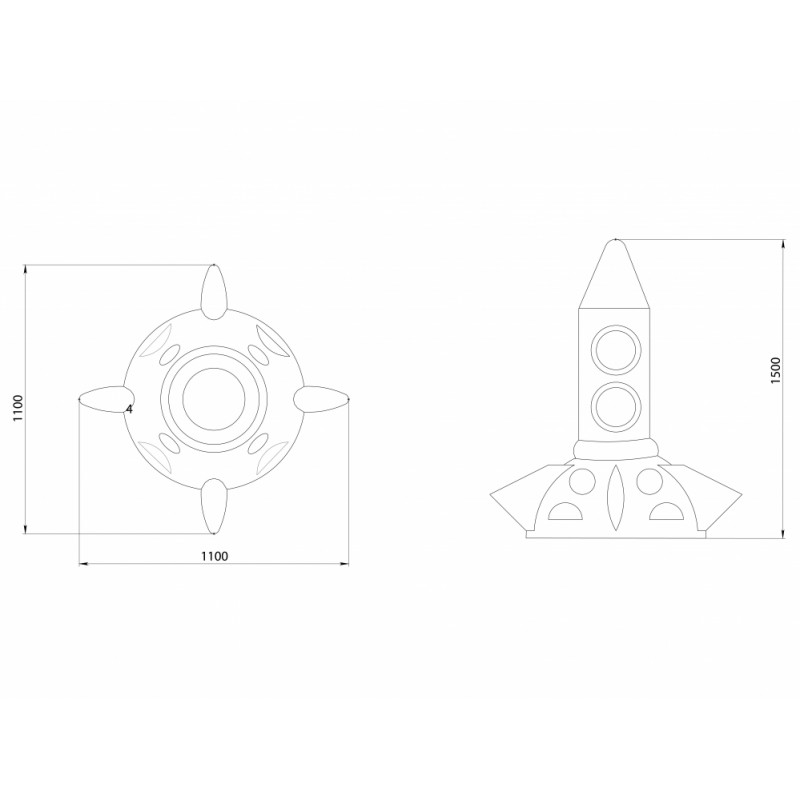 РМФ 4.52 Ракета