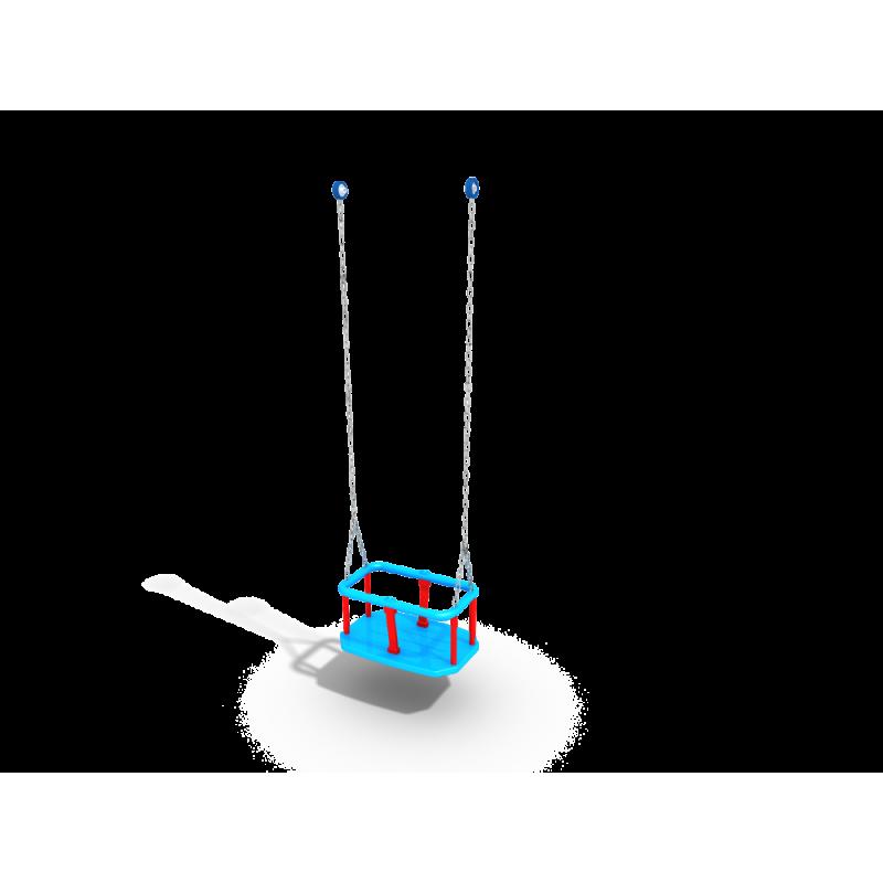 ДИО 1.204к Подвес резиновый на короткой цепи (люлька)