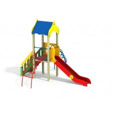 ДИК 1.017 Детский игровой комплекс Две лианы Н=1200