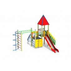 ДИК 1.252 Детский игровой комплекс Росток Н=1500