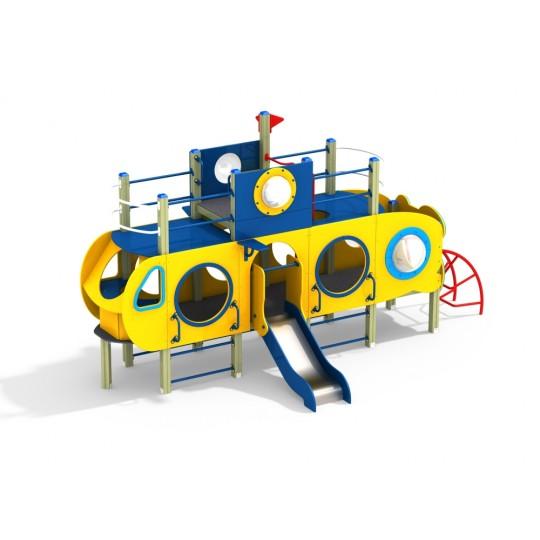 ДИК 2.39 Детский игровой комплекс Подводная лодка Н=700