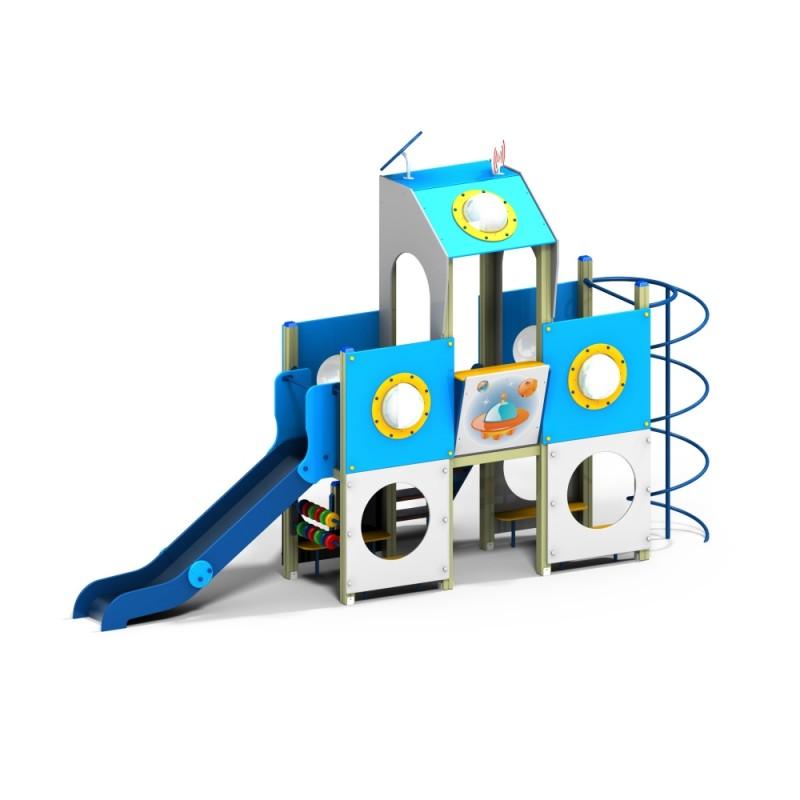ДИК 1.38 Детский игровой комплекс Космический диспетчер Н=1200