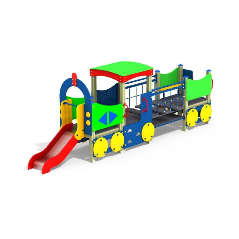 МФ 4.04 Паровоз с 1 вагоном