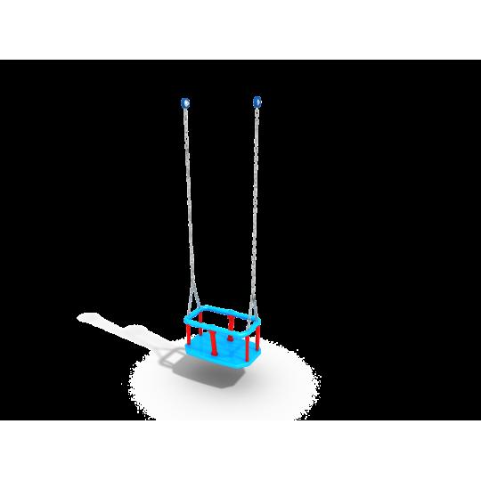 ДИО 1.204д Подвес резиновый на длинной цепи (люлька)