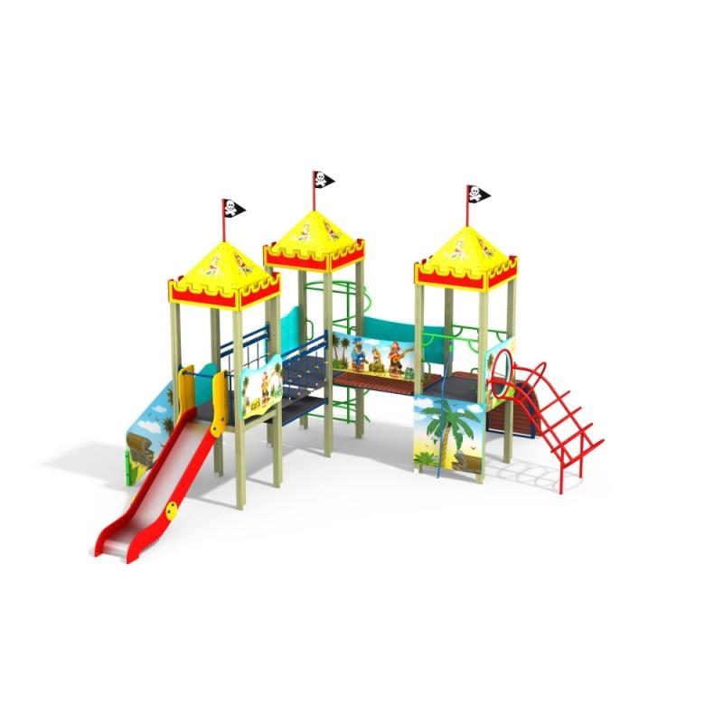 ДИК 3.115 Детский игровой комплекс Пираты Н=1200