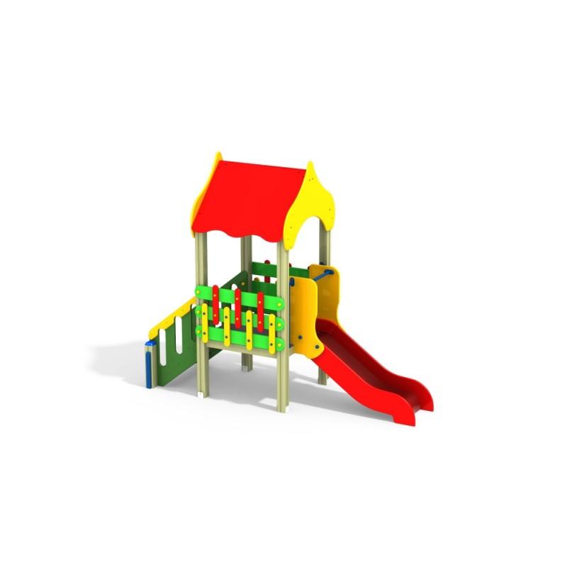 ДИК 1.093 Детский игровой комплекс Околица Н=700