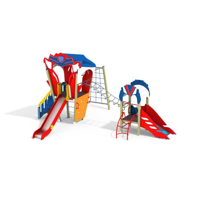 ДИК 2.252 Детский игровой комплекс Автобот Дести Н=700, 1500