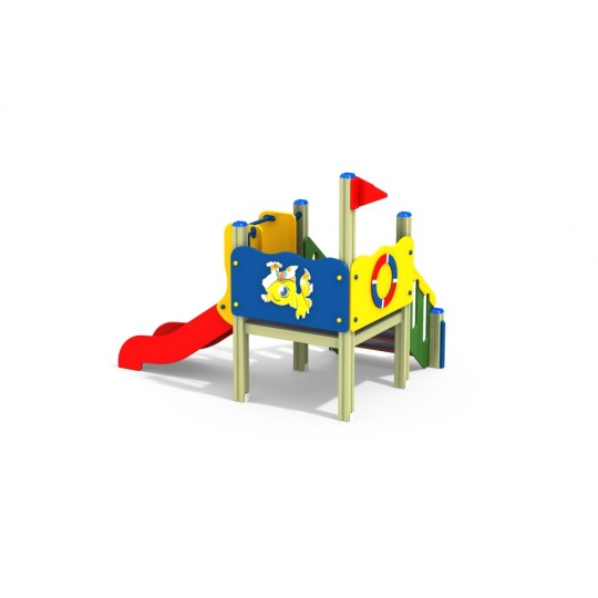 ДИК 2.137 Детский игровой комплекс Спасатель Н=700