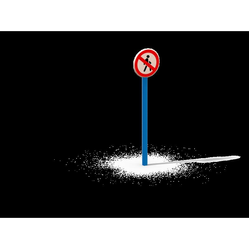 ДОУ 6.13 Знак движение пешеходов запрещено