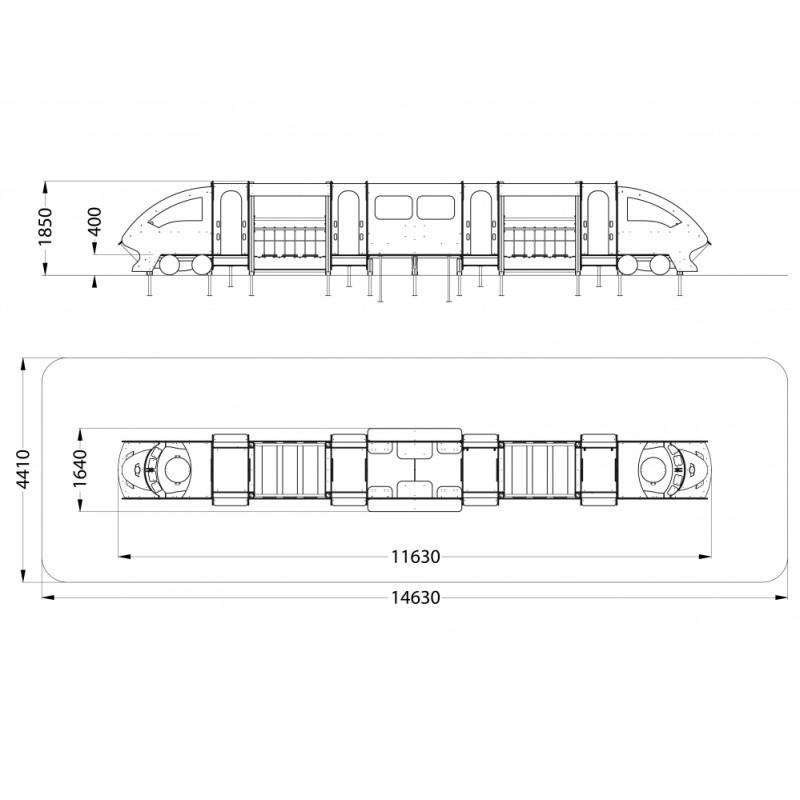 МФ 4.28 Скоростной поезд