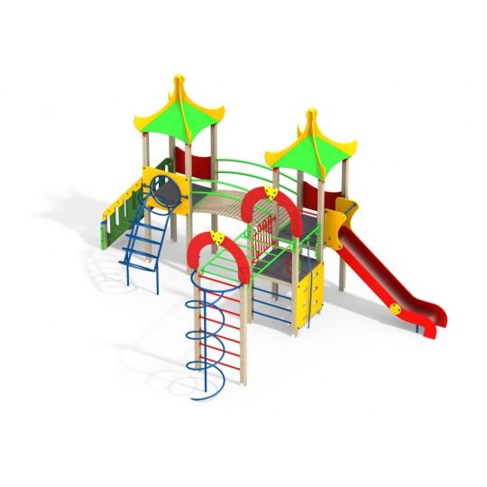 ДИК 3.04-15 Детский игровой комплекс Восторг Н=1500