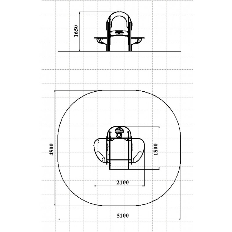МФ 4.14 Самолетик столик