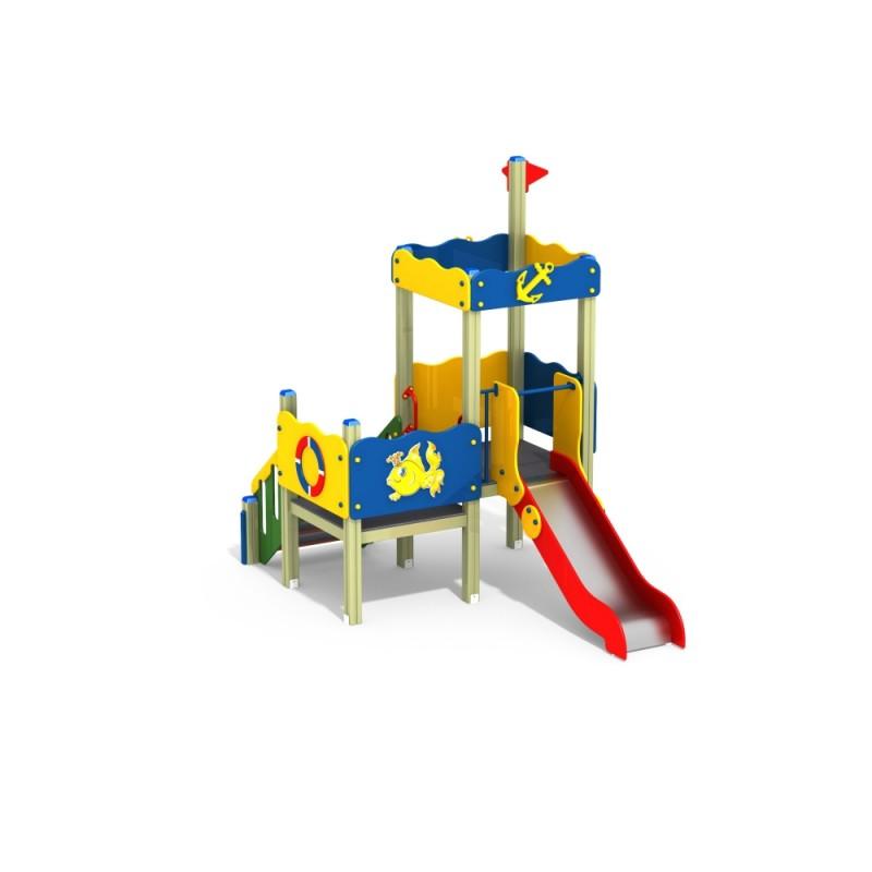 ДИК 2.136 Детский игровой комплекс Морской Н=900