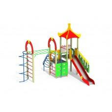 ДИК 1.251-15 Детский игровой комплекс Рукоход Пагода Н=1500
