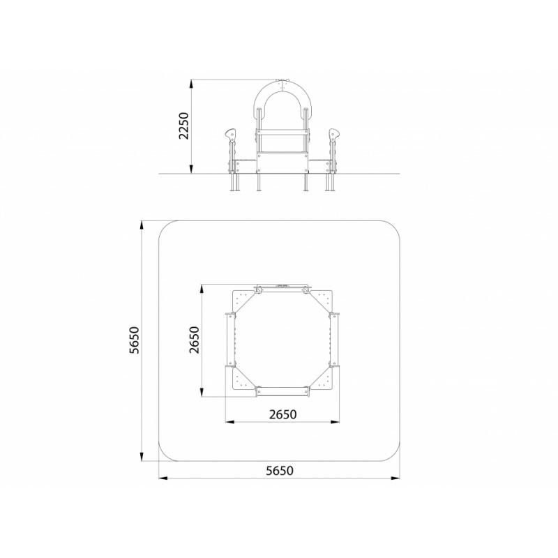 МФ 3.11-15 Песочница со спойлерами и счетами