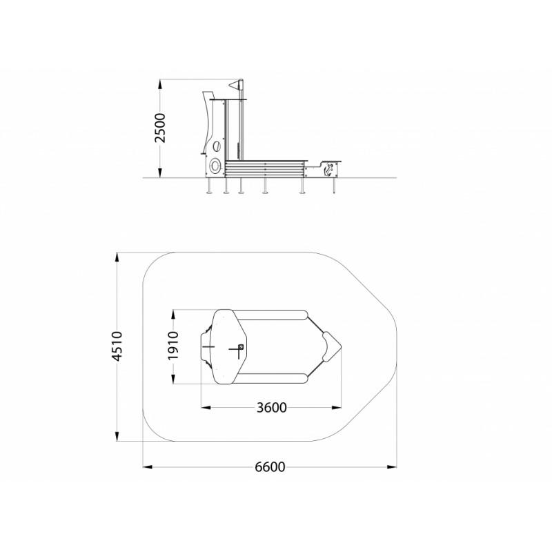 МФ 4.08 Песочница Катерок