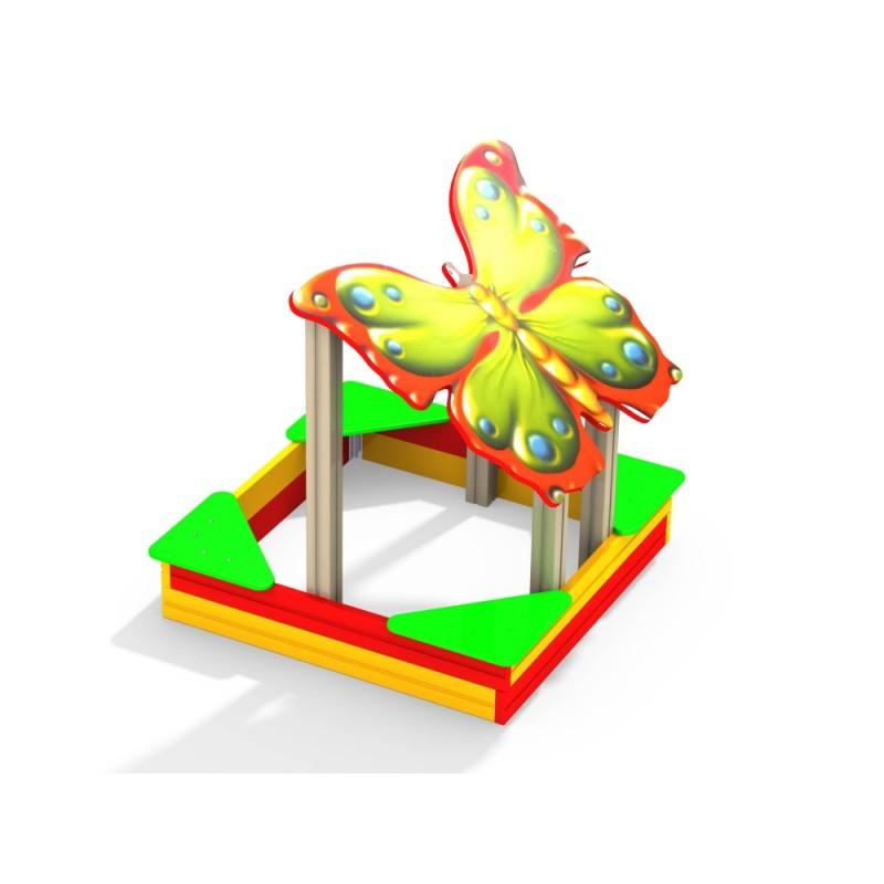 МФ 3.04 Песочница Бабочка