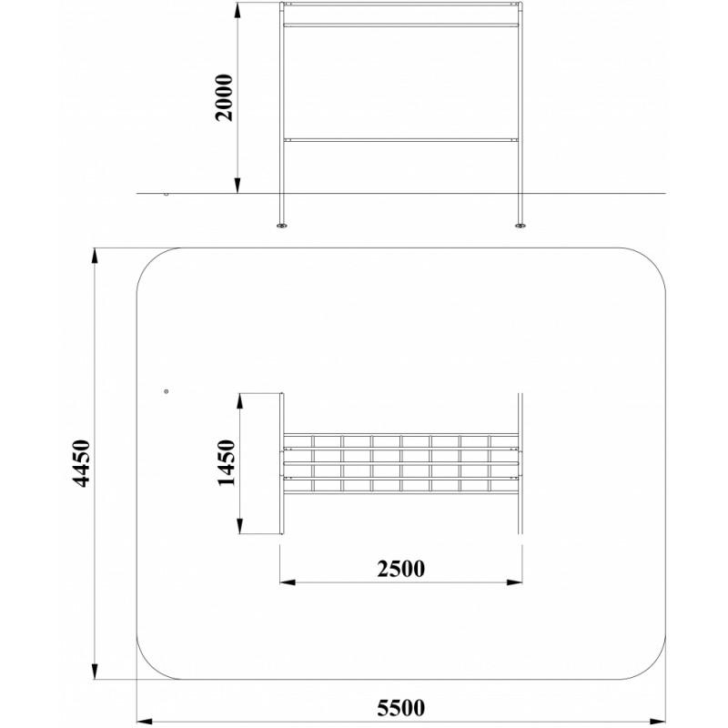 МФ 6.01 Стойка для сушки ковров