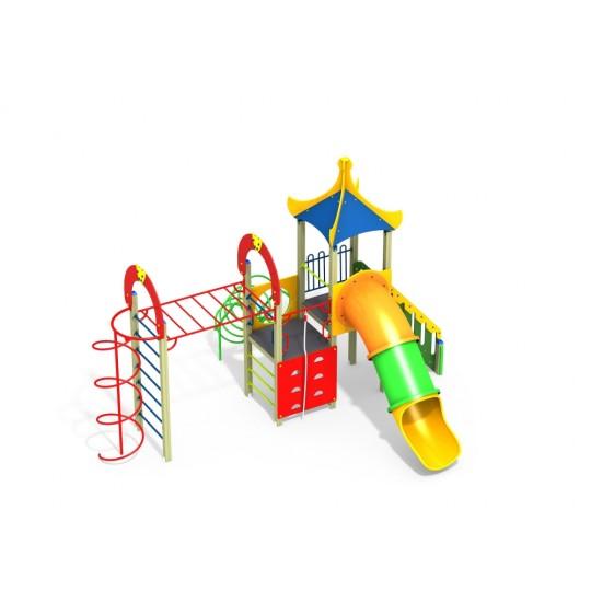 ДИК 1.253-К15 Детский игровой комплекс Киндер Н=1500