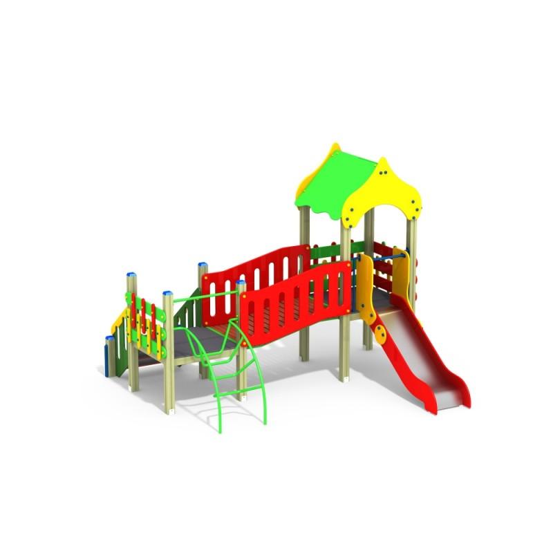 ДИК 2.083 Детский игровой комплекс Колосок Н=900