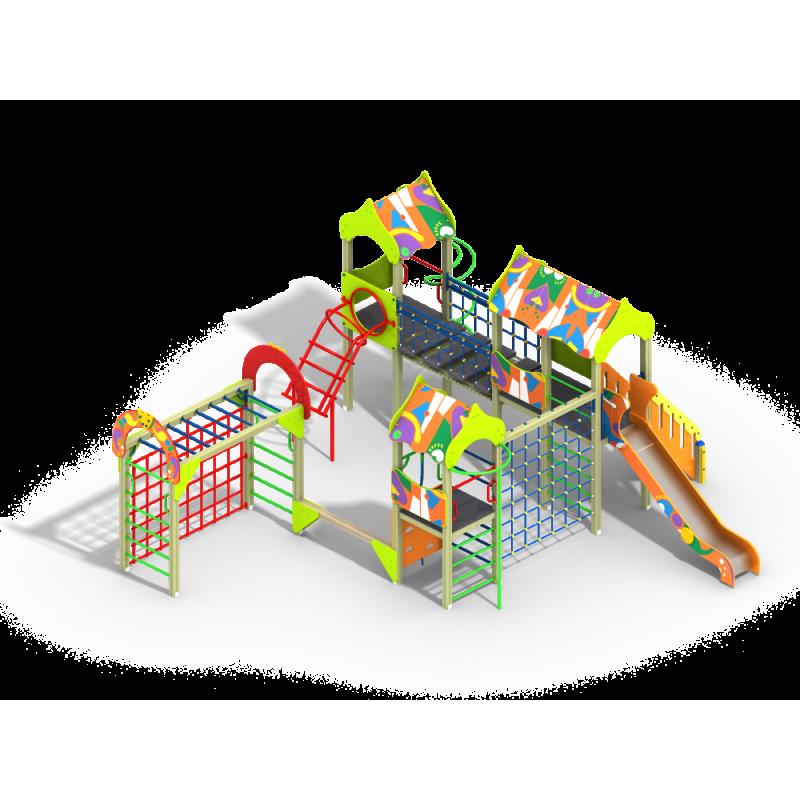 ДИК 3.181 Детский игровой комплекс Пионер Граффити Н=1500