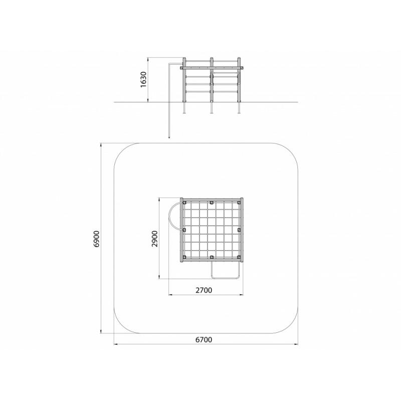 СО 1.33 Спортивный комплекс Кубик
