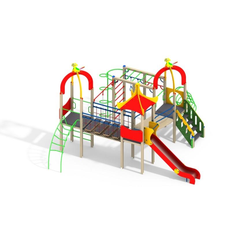 ДИК 3.213-15 Детский игровой комплекс Какаду Н=1500