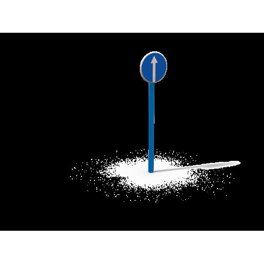 ДОУ 6.04 Знак Движение прямо в сборе
