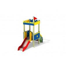 ДИК 1.095 Детский игровой комплекс Шахматная башня Н=700