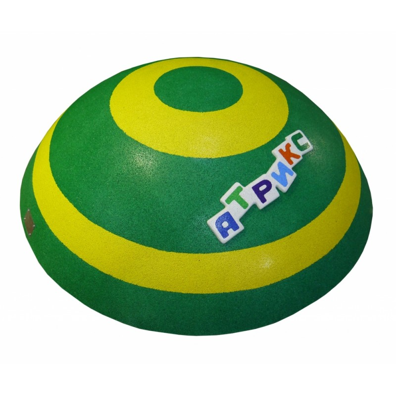 РМФ 4.18 Сфера зелено-желтая