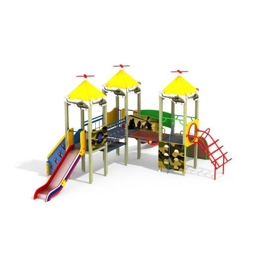 ДИК 3.117 Детский игровой комплекс Форпост Н=1200 мм