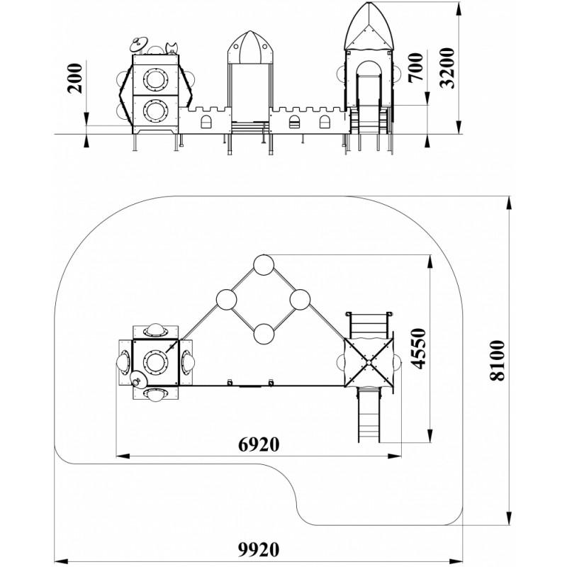 МФ 3.48 Космо станция